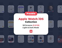 Freebie Apple Watch iOS Collection