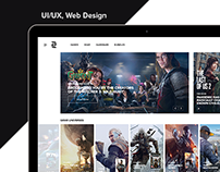 Game Shop - UI/UX, Web Design