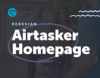 Airtasker → Homepage Redesign
