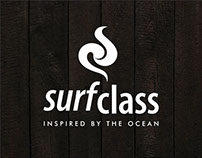 T-shirt graphics for SURFCLASS.
