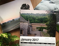 Thoughts from France 2017 Calendar