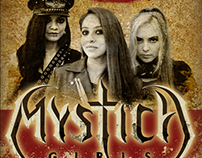 FLYER MYSTICA GIRLS IN FORO MOCTEZUMA