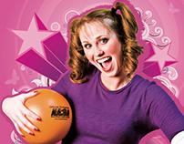 Dodgeball Tournament Promo Posters
