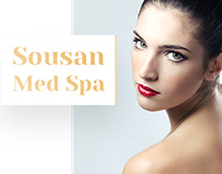Sousan Med Spa — Day Spa Website Design