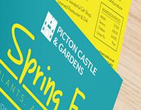 Picton Castle - Spring fair flyer