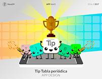 APP html5 - Tip Tabla periódica