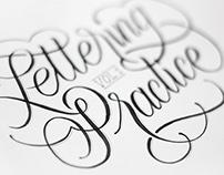 Hand Lettering Practice - Vol. 1