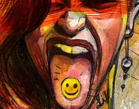 LSD smile