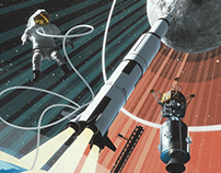 NASA 60th Anniversary Art