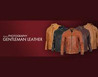 Chụp ảnh và thiết kế truyền thông áo da Gentleman