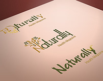 Naturally Magazine Logo Design