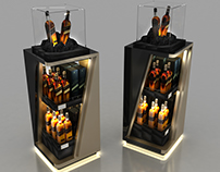 Johnnie Walker Black Label Bar and Display Designs