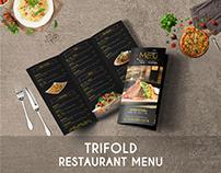 Restaurant Trifold