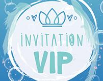Carton d'invitation | Maude St-Louis