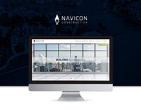 Navicon Construction | Website