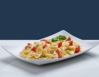Farfalle / Food photography di pasta.