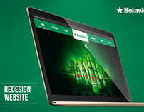 Heineken WebSite Proposal