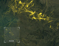 Visualizing wildlife GPS data for Internet of Elephants