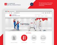 Al Bawadi Metal Industries Website Project