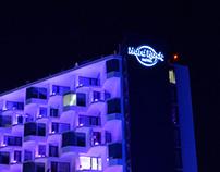 Rótulos principales Hard Rock Hotel – Ibiza