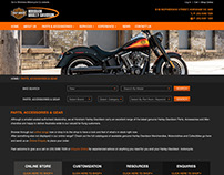 Horsham Harley Redesign 2016