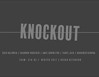 Knockout LookBook Process Book