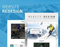 Sports Institute - Web Design