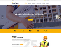 Construc | Construction Business Bootstrap 4 Template