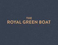 The Royal Green Boat | Branding
