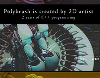 Polybrush - new 3D software
