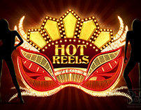 "Slot game ""Hot reels"""