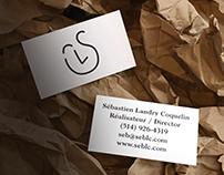 Sébastien Landry branding