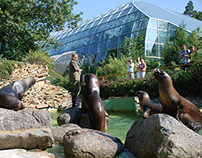 Тропический павильон в зоопарке г.Лешна,Чехия.