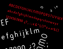 Dietip, typography