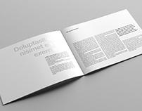 US Letter Landscape Catalog / Magazine Mock-Up