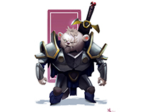 Gumroad - Cat Warrior Process