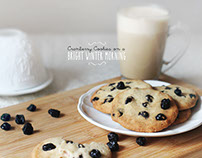 Food styling and photography - cookies
