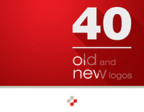 40 old and new logos