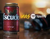 Escudo más Spotify