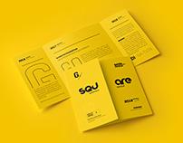 Square Getefold Brochure Mockup