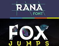 Font Rana V.1