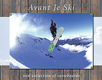 Avant Je Ski - collection of snowboards