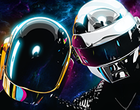 Daft Punk Illustration Commission.