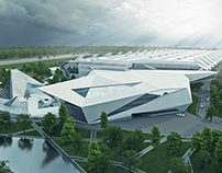Concept project of Audi factory in Odessa, Ukraine