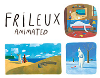 Frileux - Animated Book
