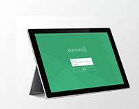 pos billing app concept design