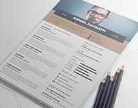FREE Elegant Resume/CV Template