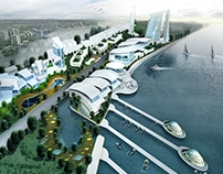 Masterplan (conceptual visualization) Johor, MY