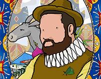 Sancho Panza for a Don Quijote collective exhibition