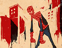 Retirement Superheroes part 1: Spiderman